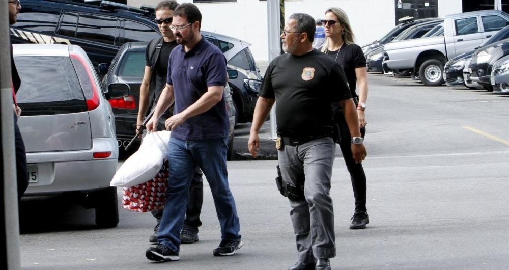 Alexandre Pinto, ex-secretário de Obras do ex-prefeito Eduardo Paes, voltou a ser preso pela Polícia Federal