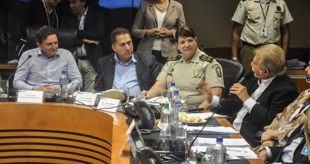 Prefeito Crivella se reuniu nesta ter�a-feira para de debatera Lei do Sil�ncio