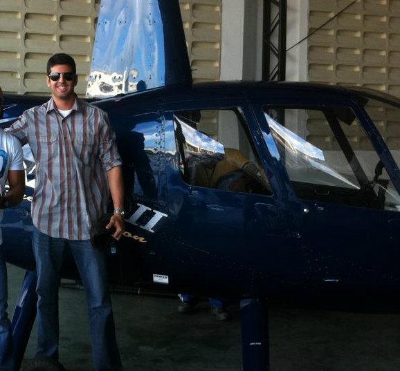 Daniel Galv�o, piloto do Globocop que caiu nesta ter�a-feira