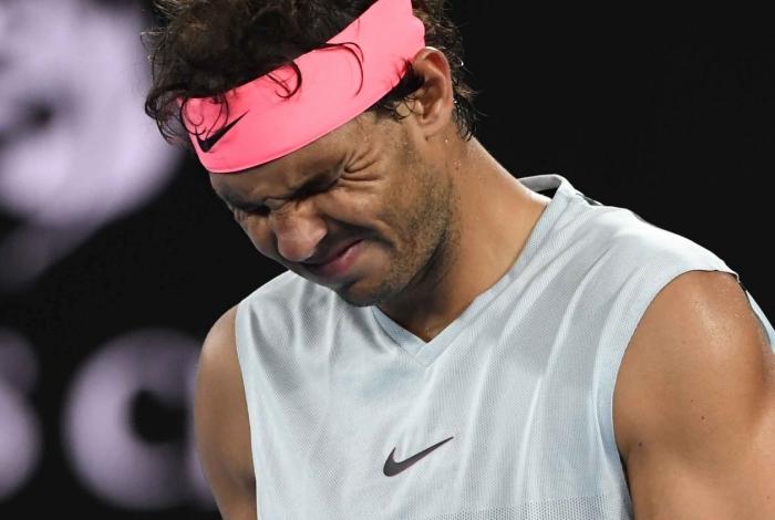 Rafael Nadal foi derrotado