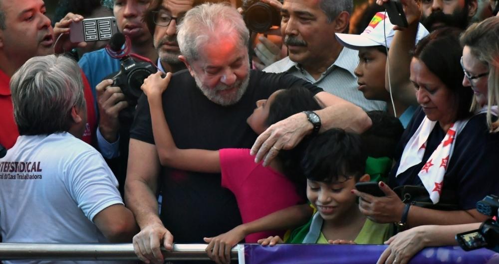 Lula participou de ato em São Paulo: 'agora eu quero ser presidente'