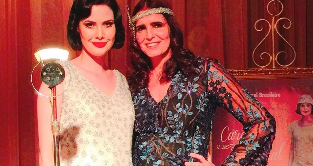 Carolina (Mayana Moura) e Ester (Malu Mader) em 'Tempo de Amar'