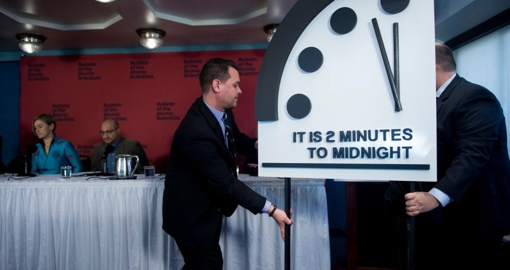Relógio com a nova hora