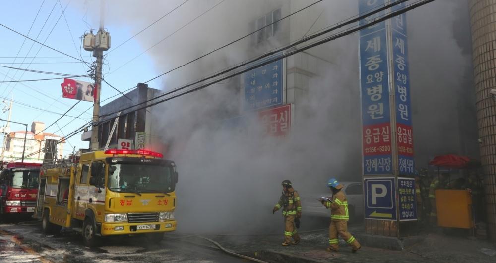 Inc�ndio em hospital/ asilo deixou pelo menos 41 mortos e 80 feridos