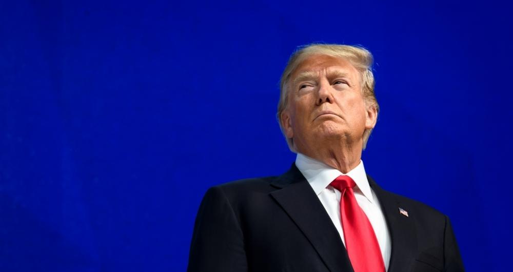 Trump defendeu a economia