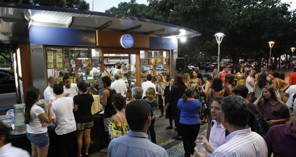 A Banca Literária, da Ediouro, fica situada na Praça Nossa Senhora da Paz, e funciona das 8h às 20h