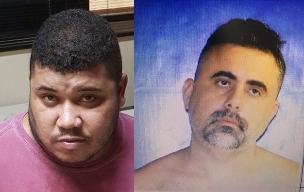 Tadeu Gonzaga de Souto e Jose Adriano da Silva foram presos