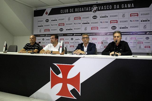 Vasco apresentou novos dirigentes