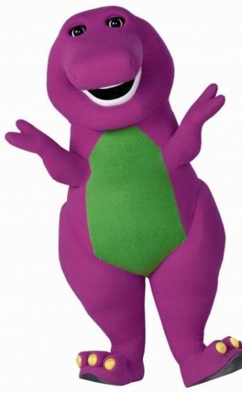 O dinossauro Barney
