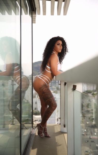 Giovana Angélica é apaixonada por Muay Thai