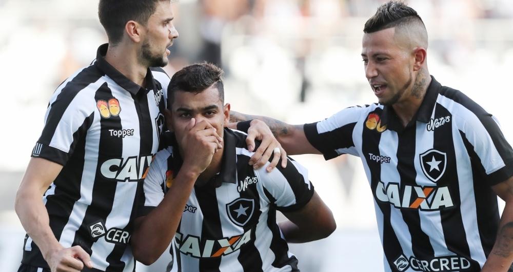 Botafogo derrotou o Boavista no Engenhão