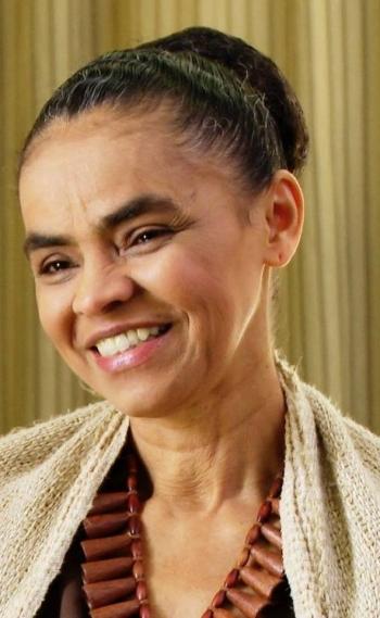 Pré-candidata da Rede Sustentabilidade Marina Silva