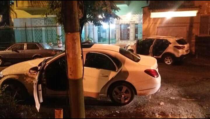 Troca de tiros deixou feridos e garçom morto na Tijuca