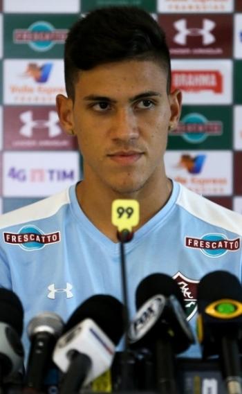 Pedro fez o gol que deu a vit�ria para o Fluminense neste domingo