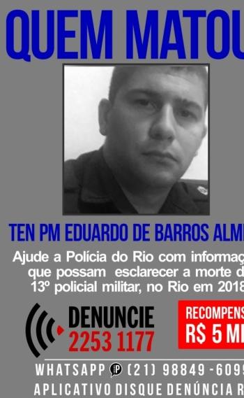 Eduardo Barros de Almeida, de 30 anos
