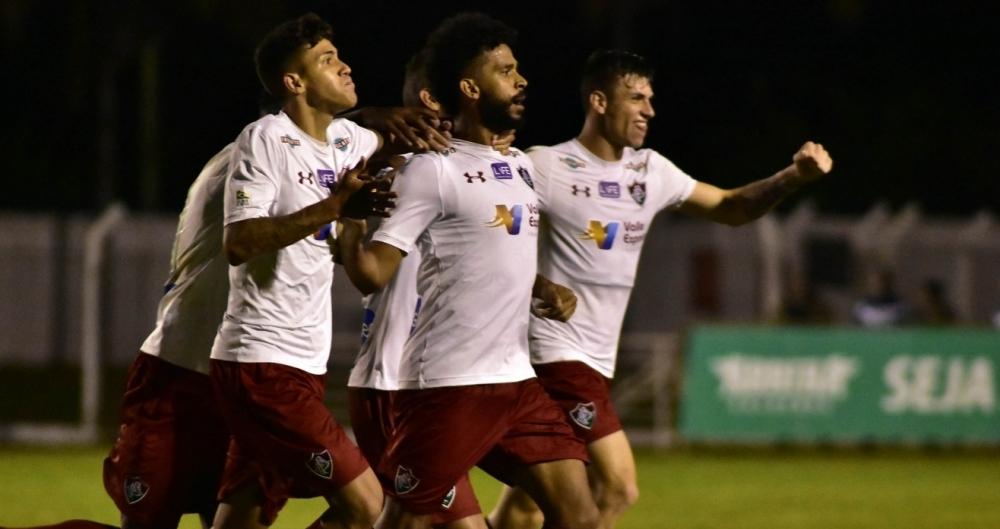 Fluminense venceu a Caldense (MG)