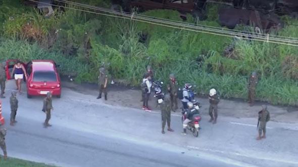 Forças Armadas fazem nova operação contra roubo de cargas no Rio