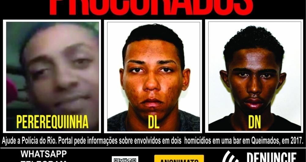 Suspeitos de participar de ataque a bar em Queimados s�o procurados pela DHBF