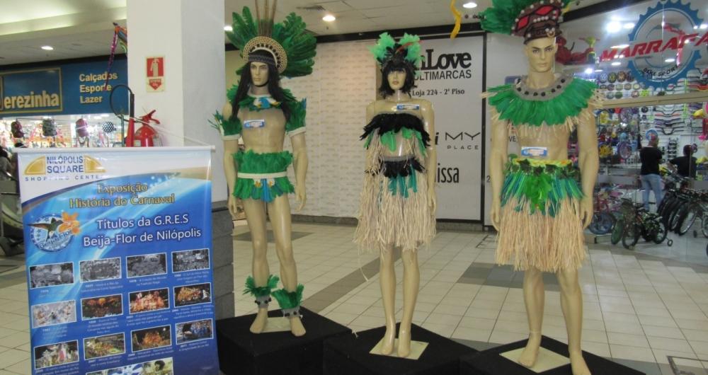 Acervo do samba fica dispon�vel para visita��o at� dia 10 de fevereiro, no shopping Nil�polis Square