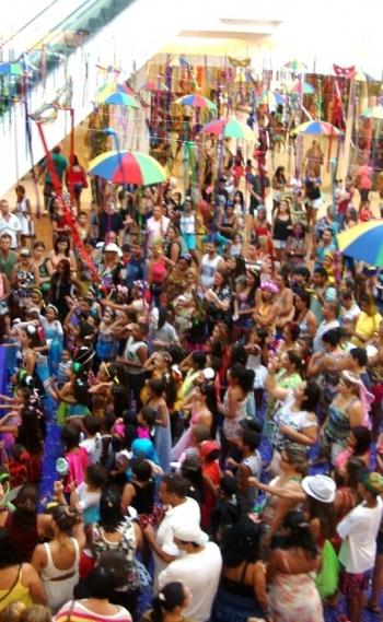 A folia come�a dia 9 no Caxias Shopping. Na programa��o tem um bloco carnavalesco para os pets