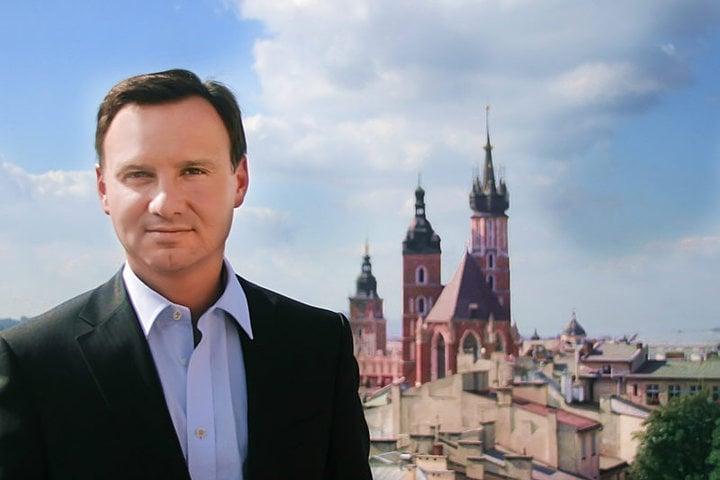 Presidente da Pol�nia Andrzej Duda