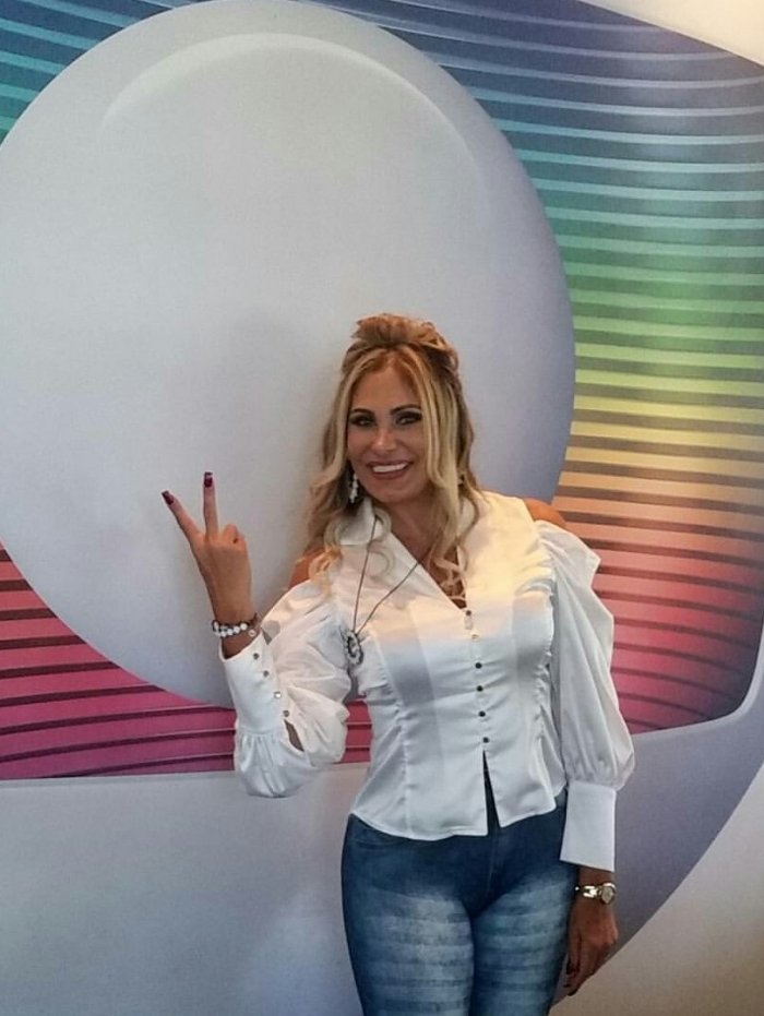 Ângela Bismarchi na Globo