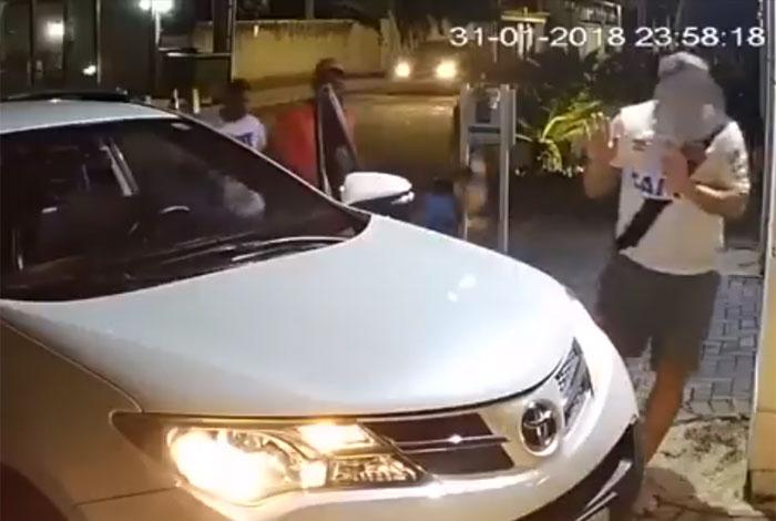 Motorista foi rendido por bandidos quando entrava em condom�nio em S�o Francisco, Niter�i