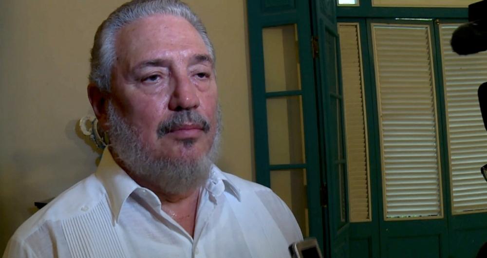 Fidel castro D�az-Balart, de 68 anos, conhecido popularmente como