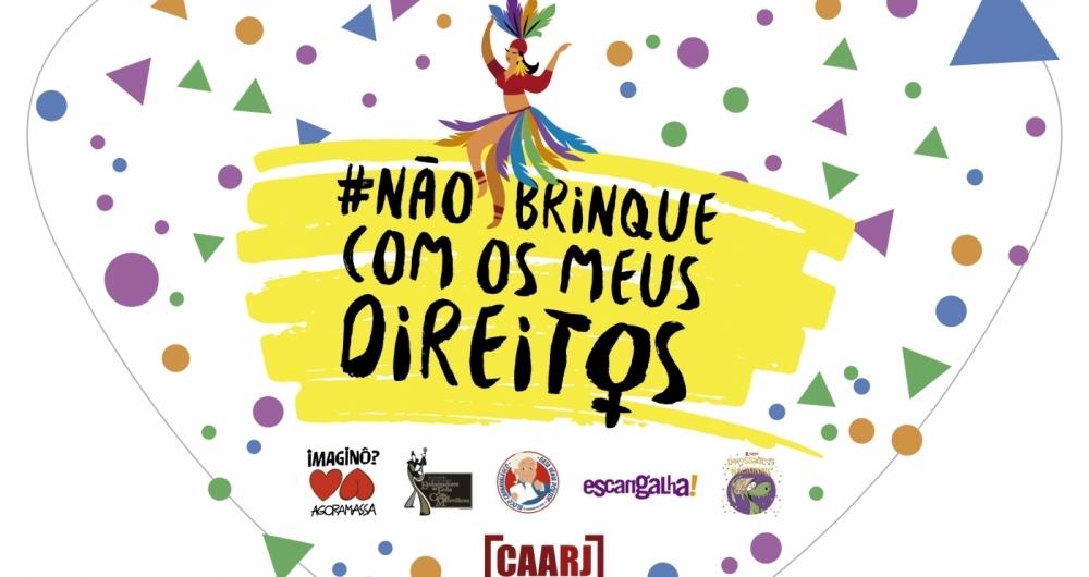 Caarj faz campanha contra o ass�dio no Carnaval