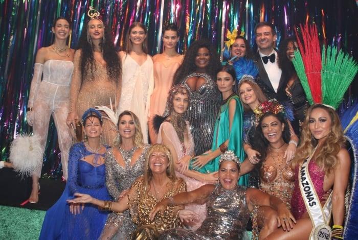 Famosos no Baile da Vogue