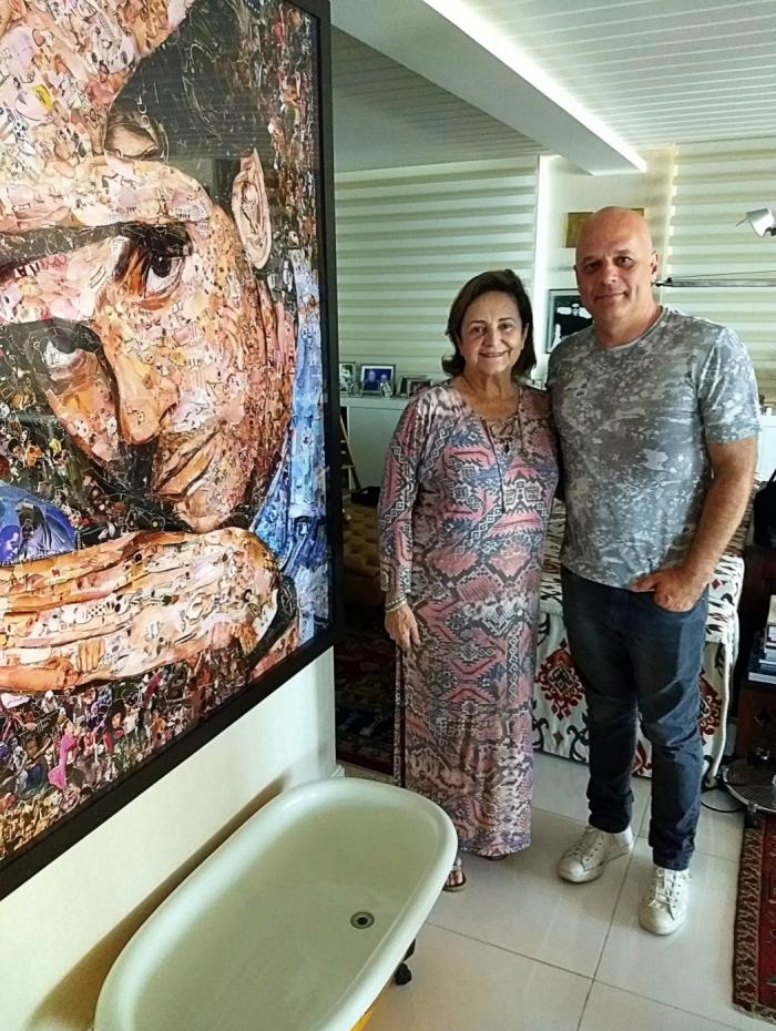 Lucinha Araújo e Marcelo Quintanilha