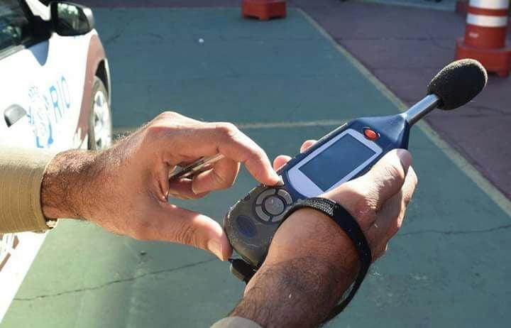 A Guarda Municipal j� recebeu doa��o de 50 aparelhos de medi��o