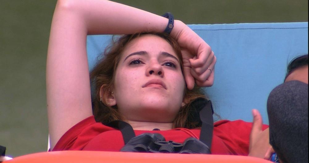 Ana Clara est� se sentindo mal no reality show ap�s beijo de Breno e Jaqueline