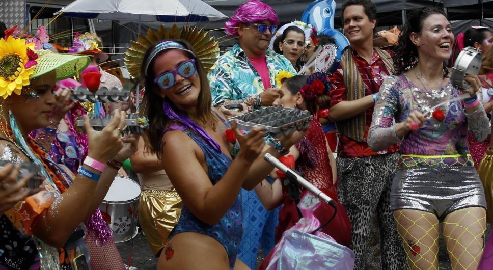 Blocos de rua vão animar o Carnaval dos cariocas
