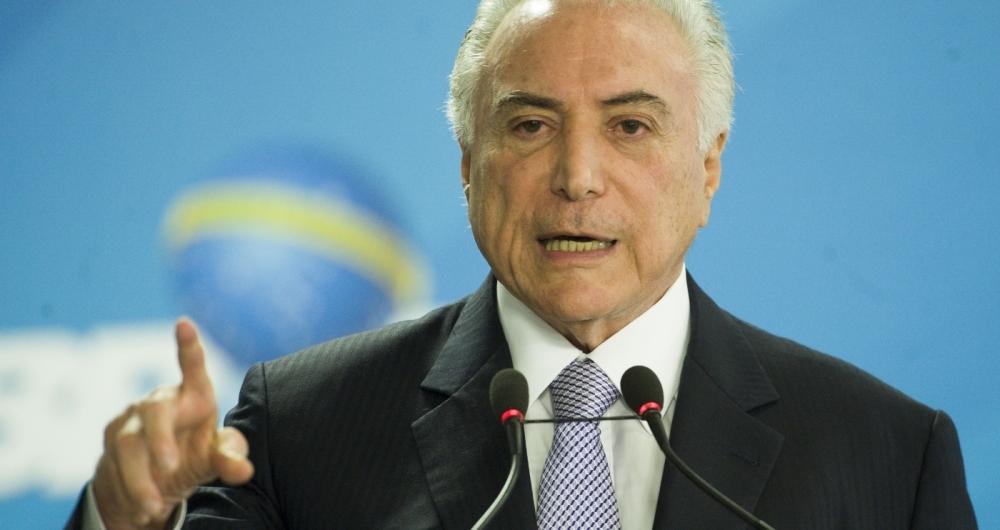Michel Temer assinou projeto de lei que garante a abertura do Orçamento para liberação de auxílio de R$ 2 bilhões