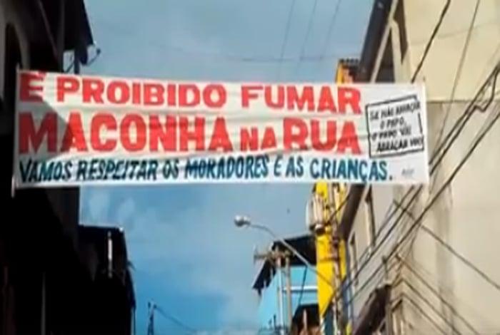 Traficantes proíbem uso de maconha na rua em comunidade de Macaé