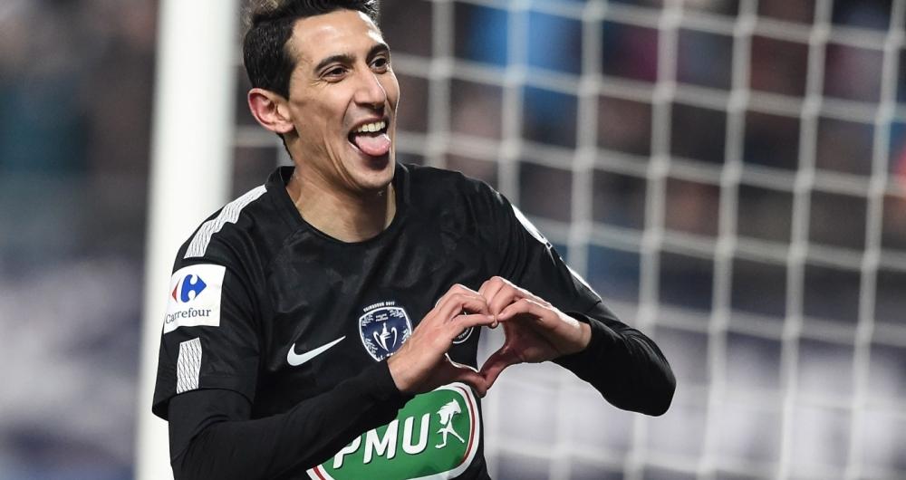 Di Maria foi o destaque da vitória do PSG