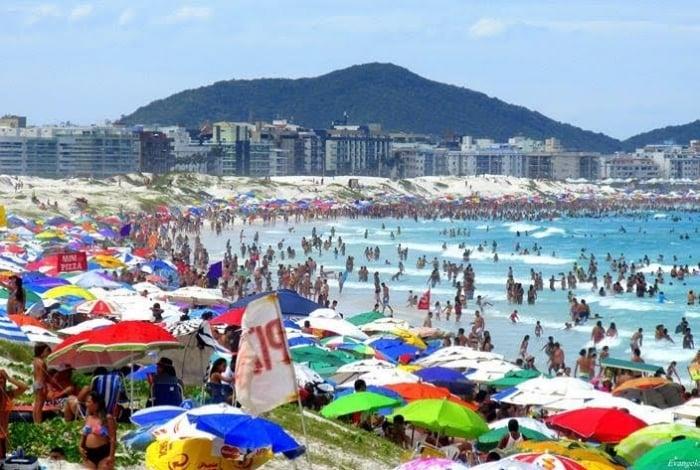 Prefeitura de Cabo Frio pediu reforço na segurança com o aumento da população durante o Carnaval, assim como houve na virada de ano