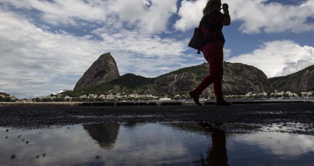 CLIMATEMPO - Rio de janeiro com pancadas de chuva e sol com temperatura media de 27 graus. Rj, 08 de fevererio.