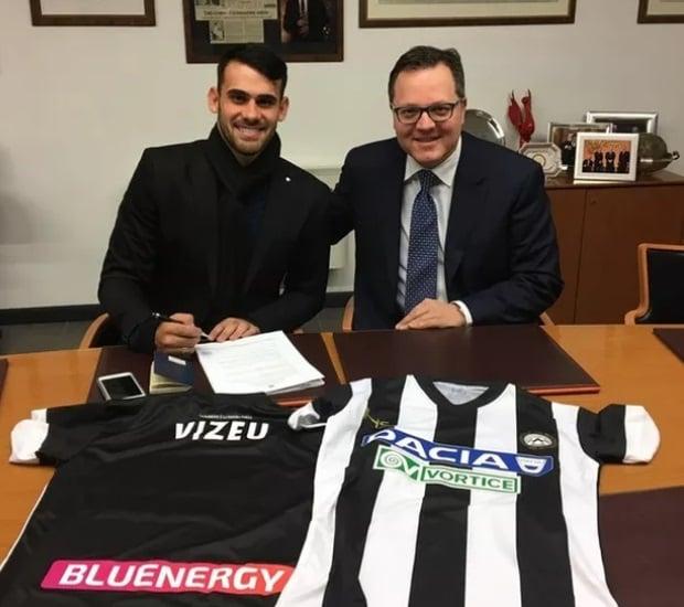 Felipe Vizeu acertou com a Udinese