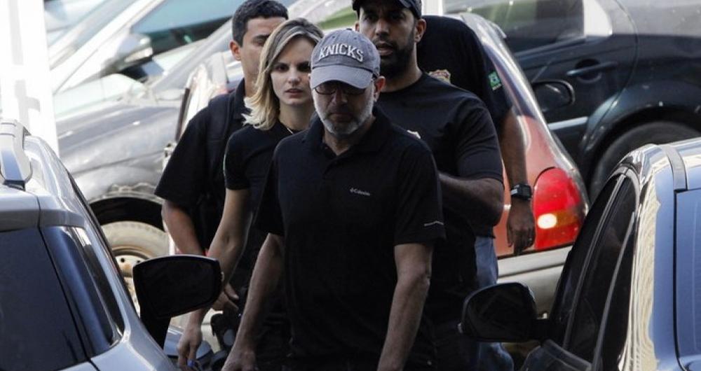 Sérgio Côrtes, no dia da sua prisão, em abril do ano passado