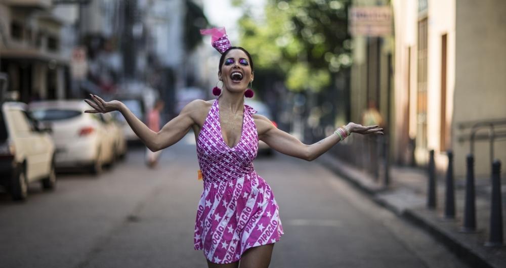 Hylka Maria está na terceira temporada de Dancing Brasil