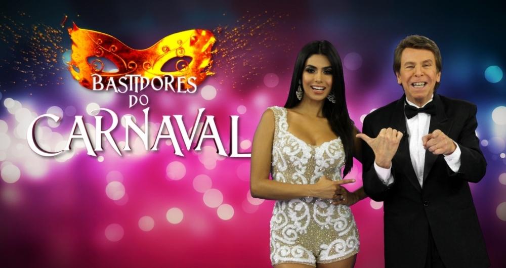Fl�via Noronha e Nelson Rubens no carnaval da RedeTV!