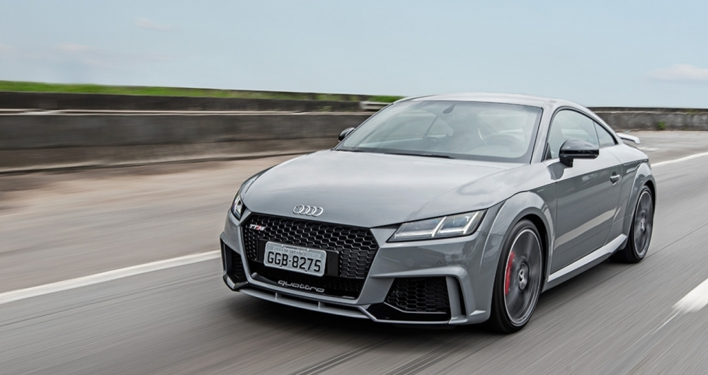 Audi traz vers�o mais agressiva do TT para o mercado brasileiro