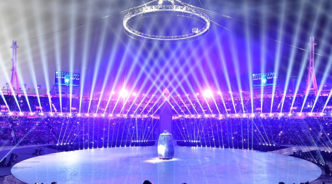 Pyeongchang, na Coreia do Sul, recebe atletas de todo o mundo