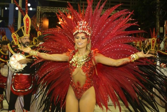 Carnaval 2018 - Desfile das Escolas de Samba do Grupo A na Marques de Sapucai. Unidos de Bangu