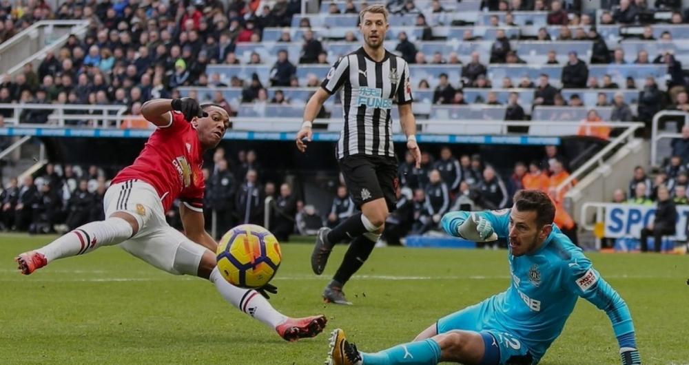 Partida entre Manchester United e Newcastle