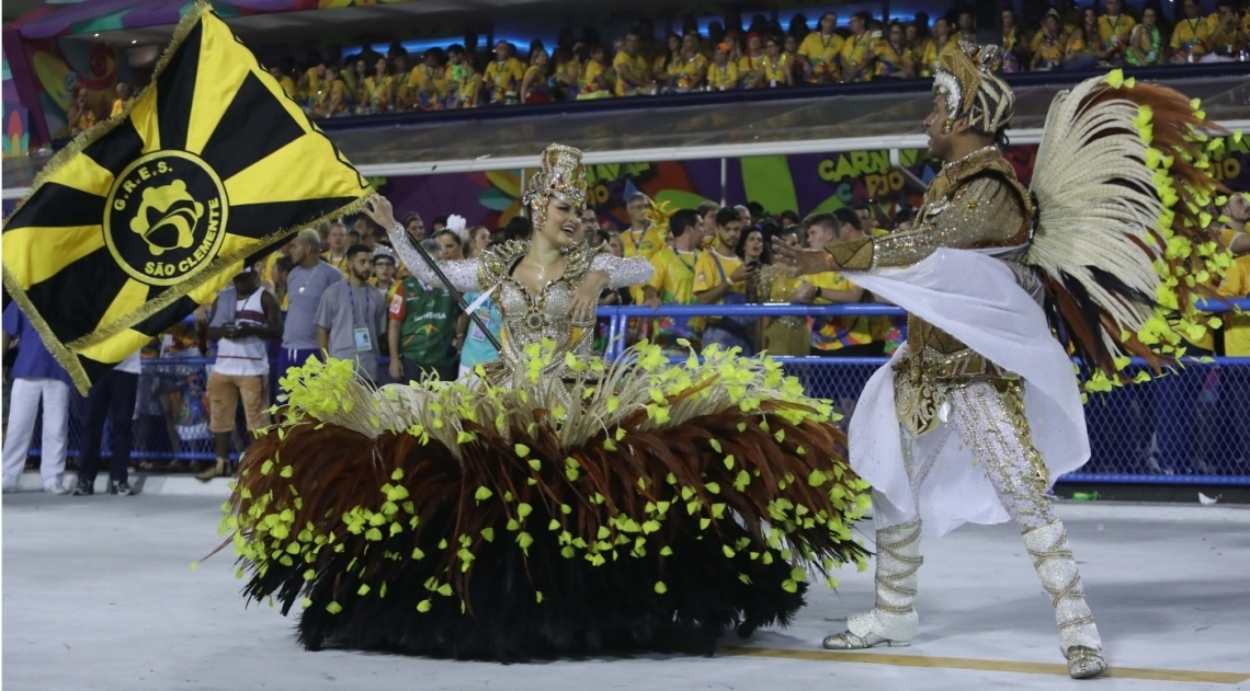 Carnaval 2018 - Desfile das Escolas de Samba do Grupo Especial na Marques de Sapuca�. G.R.E.S. S�o Clemente
