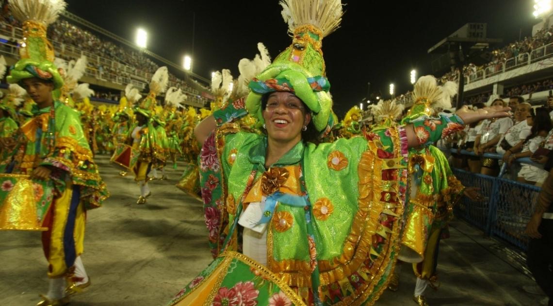 Carnaval 2018 - Desfile das Escolas do Grupo A na Marques de Sapuca�. G.R.E.S.Academicos do Cubango