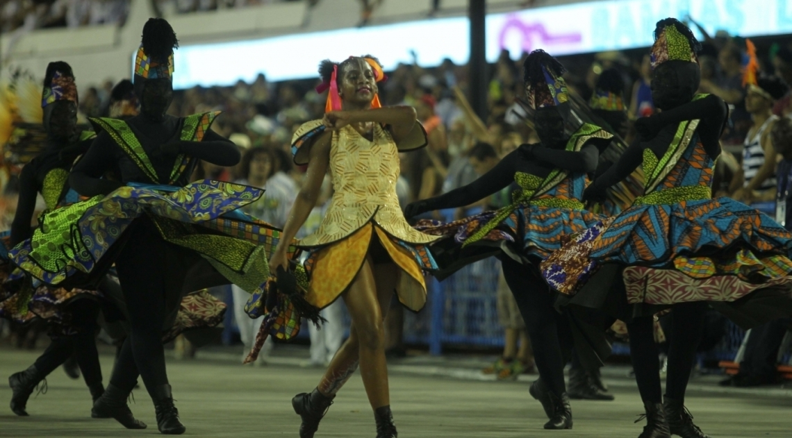 Carnaval 2018 - Desfile das Escolas do Grupo A na Marques de Sapuca�. G.R.E.S. Inocentes de Belford Roxo
